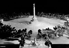 Model of the 'Grosser Stern' where the Berlin Victory Column was to be erected after the plan by architect Albert Speer -