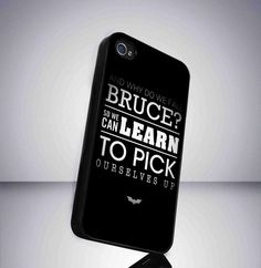Case iphone 4 and 5 for Batman Quotes Black by NichoAngelo on Etsy, $14.89