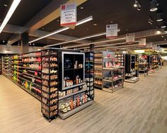 City Market, the supermarket design idea With the area of sq ft, this grocery store design, City Market , is located in Mexico C. Retail Store Design, Retail Shop, Layout, Liquor Store, Retail Interior, Store Displays, Shop Interiors, Commercial Design, Stores