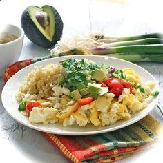 Eggs Quinoa Protein Breakfast by livlifetoo