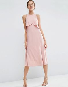 Possible bridesmaid dress - for some reason I really like this one. Simple and elegant