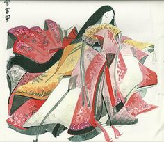 Character & Art (c) Hachiretsu Gosechi no Mai-hime Japanese Artwork, Japanese Prints, Japanese Kimono, Heian Era, Heian Period, Mai Hime, Traditional Japanese Art, Asian History, Japanese Outfits