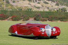 1939 Delahaye 165 Figoni et Falaschi Cabriolet. @Deidra Brocké Wallace