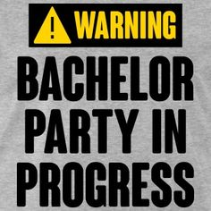 Bachelor Party T-Shirts | Spreadshirt