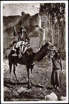 1930s Syria / Lebanon Native Baalbek