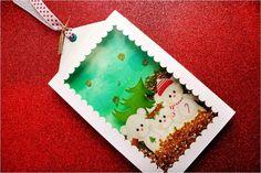 Tag de Natal feita com a Silhouette Cameo! Perfeita para decorar a mesa ou o seu presente de Natal! ;)