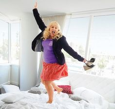 Rebel Wilson. Love her i want her to be my bff