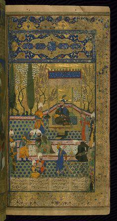 Walters Art Museum Illuminated Manuscripts Persian Miniature