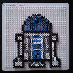 Star wars R2D2 en perles à repasser modèle. Cliquer pour aggrandir                                                                                                                                                                                 Plus