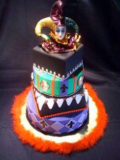 Pin Pink Mardi Gras Sweet 16 Cake — Birthday Cakes Cake on Pinterest