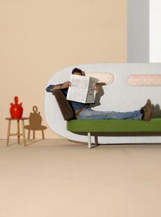 Испанская интересная мебель (Диван Карима Рашида)