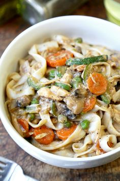 Tofu Shirataki Tuna Noodle Casserole - Pickled Plum Going to try this with Udon noodles instead