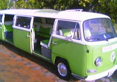 VW Bus Limo, via Flickr.