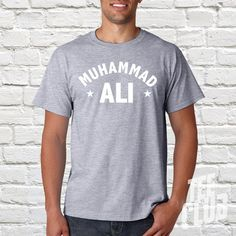 Muhammad Ali Tshirt Ali boxing tee Ali fight tee Ali by TeeClub