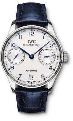 IW500107 IWC Portuguese Mens Stainless Steel Watch | WatchesOnNet.com