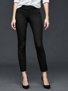 Bi-stretch skinny ankle pants Product Image