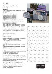 Patchwork tæppe - stof2000.dk