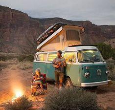 61 ideas for volkswagen campers van camping vw bus Vw Camper Bus, Volkswagen Bus, Vw Caravan, Vw Camping, Camping Life, Camping Hacks, Camping Outdoors, Combi Vw T2, Combi Ww