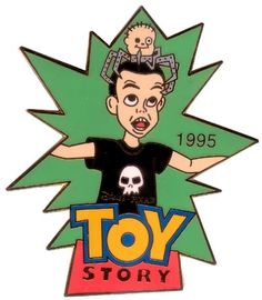Disney History of Art - Toy Story Sid 1995 pin/pins, History of Art - Toy Story , This pin is part of the Disney's History of Art pins being released at the Mickey & Pals stores in Japan. Disney Wallpaper, Cartoon Wallpaper, Wallpaper Art, Tatoo Snake, Toy Story 1995, 8bit Art, Retro Illustration, Old Cartoons, Vintage Posters