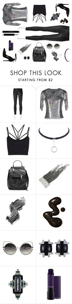 """""""pretty vacant"""" by ell-richards ❤ liked on Polyvore featuring Zoe Karssen, MSGM, Sweaty Betty, Marc Jacobs, Chanel, Illamasqua and MAC Cosmetics"""