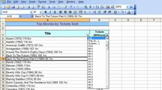 Microsoft Excel Tutorial for Beginners #28 - Database Pt.4 - Filter with AutoFilter