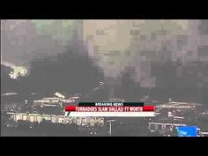 Tornado throws cars like toys - Dallas 3rd April 2012 by CLGOALS2012HD, YouTube #Tornadoe #Texas #YouTube #CLGOALS2012HD