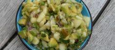 Salsa van avocado en peer | Lekker Tafelen
