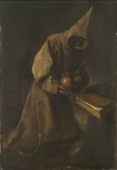 "| Francisco de Zurbarán | ""San Francisco en meditación"" | 1632 | Óleo sobre tela | 114 x 78 cm. - Marco: 144 x 106 cm. | Inv. 8617 | http://www.mnba.gob.ar/coleccion/obra/8617 |"