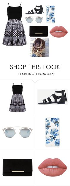 """""""casual casual"""" by norishaa on Polyvore featuring FRACOMINA, Christian Dior, Sonix, Dune and Lime Crime"""