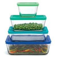 Anchor Hocking Glass Rectangular Food Storage Containers