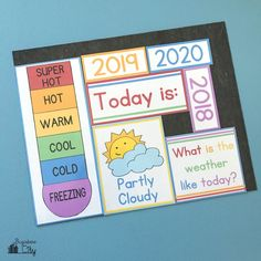 Free DIY Children's Calendar printables available in English, Spanish and French! This calendar is a great learning tool to use with children daily and a fun way to learn about the weather, days of the week and plan out your day! Calender Print, Free Calender, Calender Template, Calendar 2019 Printable, Calendar Board, Calendar Time, 2021 Calendar, Visual Schedule Preschool, Preschool Calendar