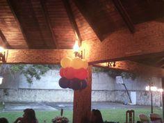 Columna de globos