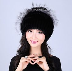 Winter women rex rabbit fur hat with fox fur flowers skullies knitted beanies 2016 hot fashion good quality ladies real fur caps #>=#>=#>=#>=#> Click on the pin to check out discount price, color, size, shipping, etc. Save and like it!