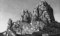 Maurits Cornelis Escher - Pentedattilo (1930)