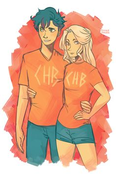 percy and annabeth fan art tumblr - Google Search