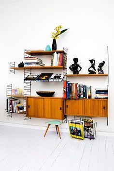 ATELIER RUE VERTE , le blog: Appartement aux couleurs seventies