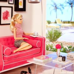Home sweet home! I'm so excited to share that I have moved into a new Malibu home! Get the full tour with @dominomag, link in my profile!  #barbie #barbiestyle