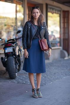 See the chic from the streets of Sweden.
