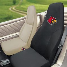 Easy Install Individual Louisville Cardinals Seat Cover