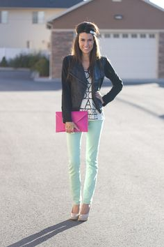 Leather and Mint