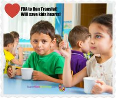 Finally! Transfats in kids food HURT their hearts now and forever. Learn how to protect kids today from heart disease, cancer and other health horrors later!