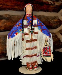 Custer Battlefield Trading Post  :: Dolls :: Indian Handmade