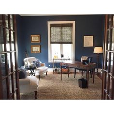 Restyle Design On Instagram: U201cJust Updated Our Upstairs Home Office From  Brownu2026