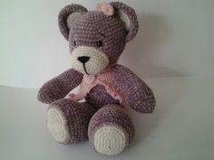 commande spéciale ours au crochet : Jeux, peluches, doudous par stella1957