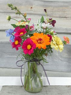 Glass Vase, Bouquet, Bloom, Summer, Home Decor, Flowers, Accessories, Summer Time, Decoration Home