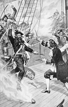 Black Beard, the famous pirate. Samuel Odell, was captured by Black Beard and…