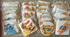 Lion Guard cookies