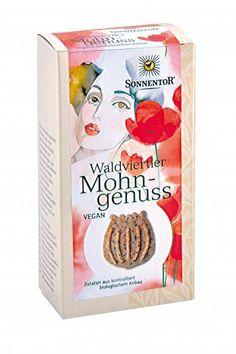 Sonnentor vegan poppy seed cookies!!! yummy!!!
