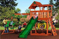 10 Best Wooden Swing Sets For Your Backyard