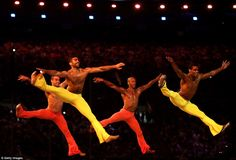 Dancers gave an amazing and electrifying performance during the Closing Ceremony…